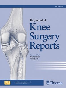 View Details for Journal of Knee Surgery Reports