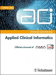 View Details for ACI - Applied Clinical Informatics