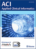 ACI Applied Clinical Informatics 2019