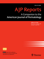 AJP RAmerican Journal Perinatology Reports