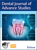 DJAS Dental Journal Advance Studies