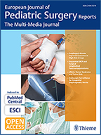 EJPS R European Journal Pediatric Surgery Reports 2018