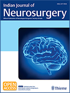 IJNS Indian Journal Neurosurgery 2018