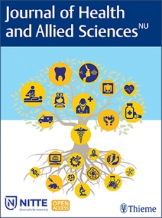 View Details for Journal of Health and Allied Sciences
