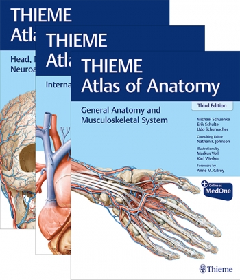 View Details for THIEME Atlas of Anatomy, Three Volume Set, Third Edition