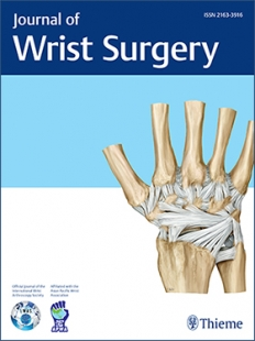 View Details for Journal of Wrist Surgery
