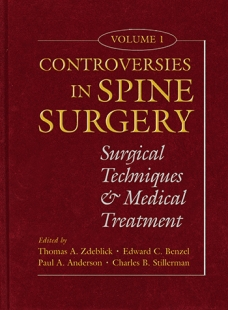 View Details for Controversies in Spine Surgery, Volume 1