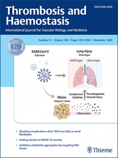View Details for Thrombosis and Haemostasis