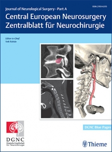 View Details for Journal of Neurological Surgery Part A