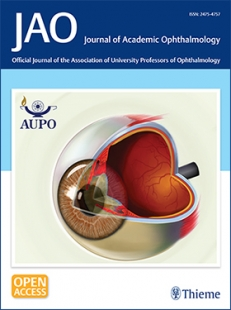 View Details for Journal of Academic Ophthalmology