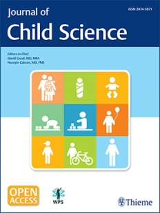 View Details for Journal of Child Science