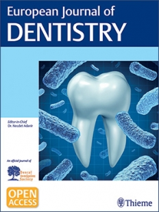View Details for European Journal of Dentistry