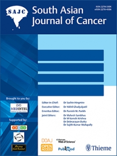 View Details for South Asian Journal of Cancer