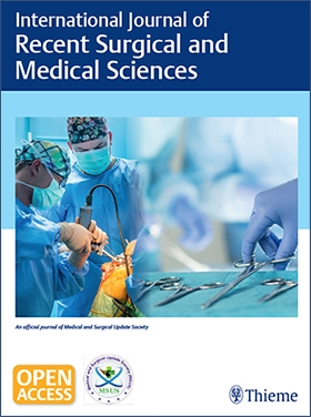 View Details for International Journal of Recent Surgical and Medical Sciences