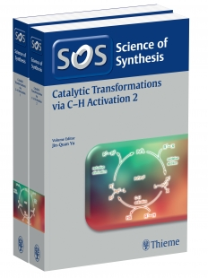 View Details for Science of Synthesis: Catalytic Transformations via C-H Activation Vol. 1+2, Workbench Edition