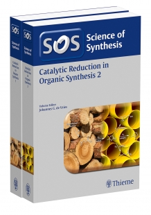 View Details for Science of Synthesis: Catalytic Reduction in Organic Synthesis Vol. 1+2, Workbench Edition