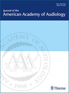 View Details for Journal of the American Academy of Audiology