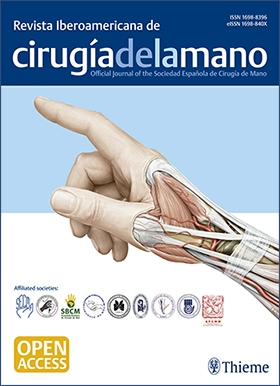 Plastic Surgery | Ibero-American Journal of Hand Surgery