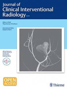 View Details for Journal of Clinical Interventional Radiology ISVIR