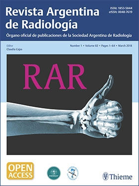 View Details for Argentinian Journal of Radiology / Revista Argentina de Radiología